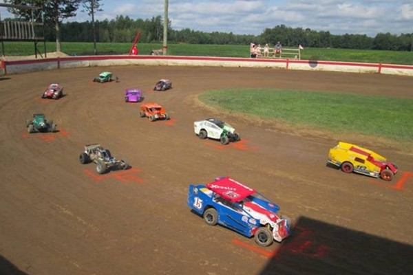 RC Speedway Dirt Oval